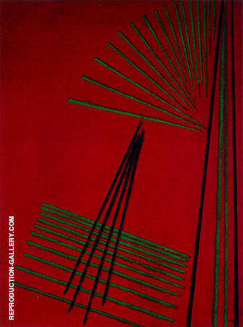 Construction no 88 1919 By Aleksandr Rodchenko