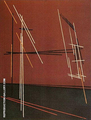 Construction 1919 By Aleksandr Rodchenko Replica Paintings on Canvas - Reproduction Gallery