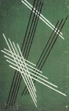 Lines on Green Background 1919 By Aleksandr Rodchenko