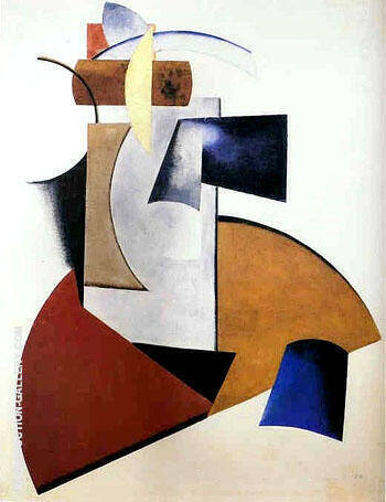 Non Objective Composition 1917 By Aleksandr Rodchenko Replica Paintings on Canvas - Reproduction Gallery