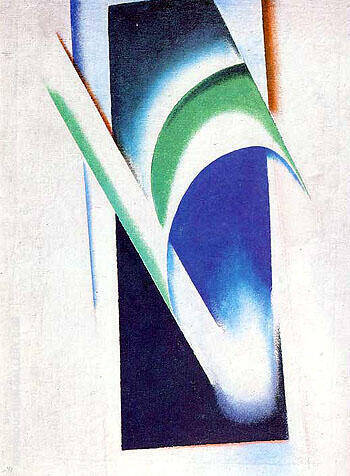Non Objective 1918 I By Aleksandr Rodchenko - Oil Paintings & Art Reproductions - Reproduction Gallery