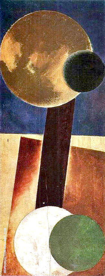 Non Objective Composition 1918 I By Aleksandr Rodchenko - Oil Paintings & Art Reproductions - Reproduction Gallery