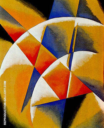 Popova By Aleksandr Rodchenko - Oil Paintings & Art Reproductions - Reproduction Gallery