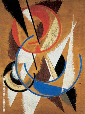 Popova Space Force Construction By Aleksandr Rodchenko - Oil Paintings & Art Reproductions - Reproduction Gallery