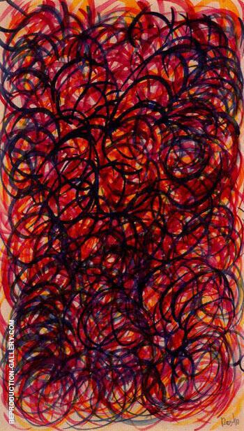 Textil Dibujo Abstracto 1940 By Aleksandr Rodchenko