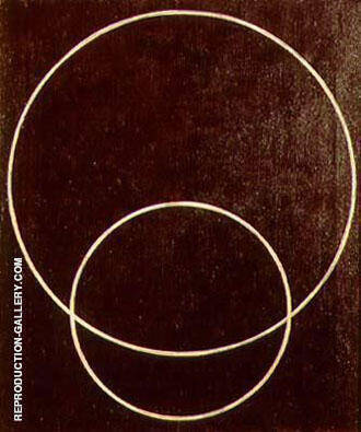 Two Circles 1919 By Aleksandr Rodchenko - Oil Paintings & Art Reproductions - Reproduction Gallery