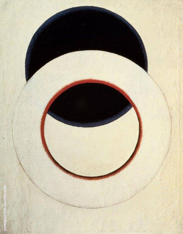 White Circle 1918 By Aleksandr Rodchenko