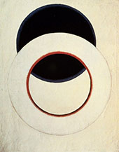 White Circle 1918 By Aleksandr Rodchenko