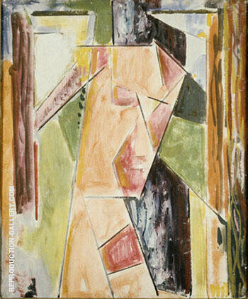 Abstract Head By Alfred Henry Maurer