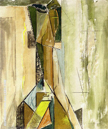 Abstract Head c 1930 1 By Alfred Henry Maurer