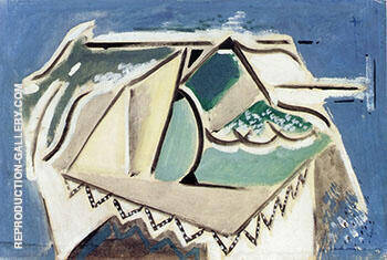 Abstract Still Life No 2 c1928 By Alfred Henry Maurer