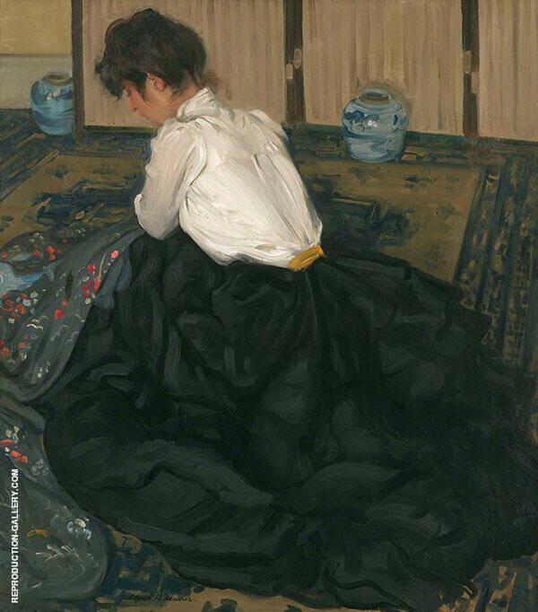 An Arrangement 1901 By Alfred Henry Maurer