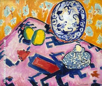 Fauve Still-Life c1908-10 By Alfred Henry Maurer