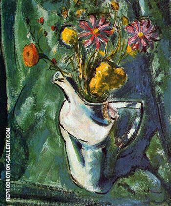 Floral Still-Life c1912 By Alfred Henry Maurer