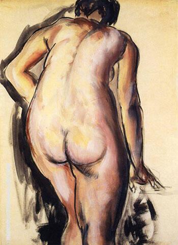 Fugure c1927 By Alfred Henry Maurer