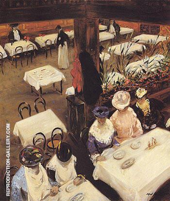 In a Cafe 1905 By Alfred Henry Maurer