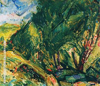 Landscape 2 By Alfred Henry Maurer
