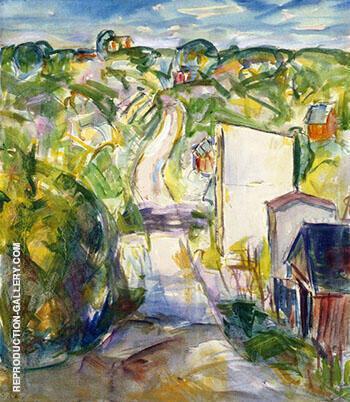 Landscape c1915 1 By Alfred Henry Maurer