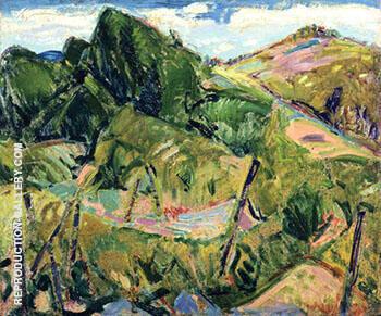 Landscape c1916 By Alfred Henry Maurer