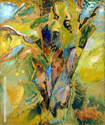 Landscape Tree circa 1916 By Alfred Henry Maurer