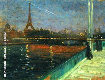 Paris Nocturne By Alfred Henry Maurer
