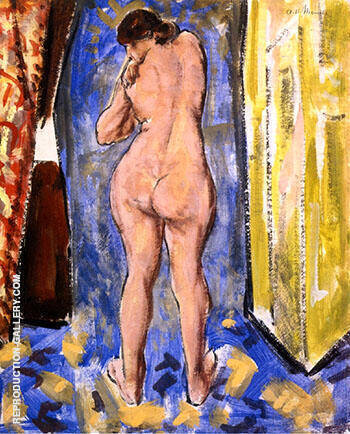 Reproduction of Standing Female Nude 1927 by Alfred Henry Maurer | Oil Painting Replica On CanvasReproduction Gallery