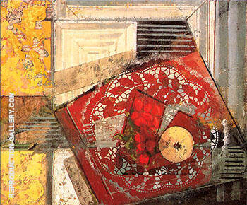 Still Life with Doily 1930 By Alfred Henry Maurer