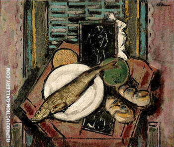 Still Life By Alfred Henry Maurer Replica Paintings on Canvas - Reproduction Gallery