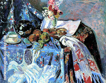 Reproduction of Still Life 2 by Alfred Henry Maurer | Oil Painting Replica On CanvasReproduction Gallery