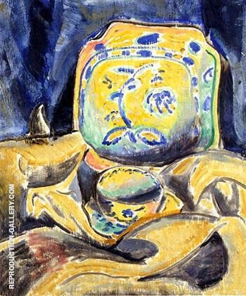 Still Life c1910 By Alfred Henry Maurer