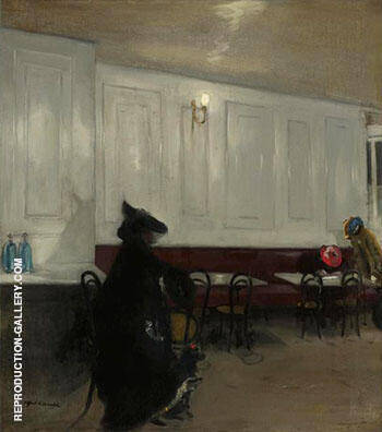 The Rendezvous By Alfred Henry Maurer - Oil Paintings & Art Reproductions - Reproduction Gallery