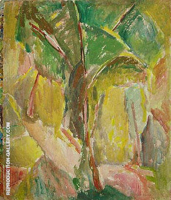 Tree By Alfred Henry Maurer - Oil Paintings & Art Reproductions - Reproduction Gallery