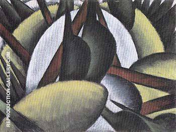 Plant Forms 1912 By Arthur Dove - Oil Paintings & Art Reproductions - Reproduction Gallery