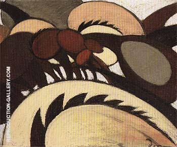 Team of Horses 1911 By Arthur Dove Replica Paintings on Canvas - Reproduction Gallery