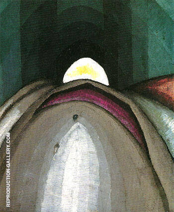 Penetration 1924 By Arthur Dove - Oil Paintings & Art Reproductions - Reproduction Gallery