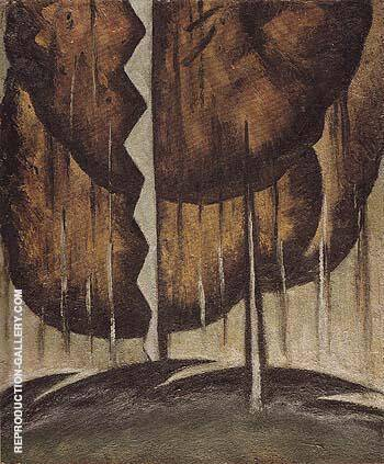 Thunderstorm 1921 By Arthur Dove - Oil Paintings & Art Reproductions - Reproduction Gallery