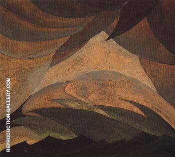 Golden Storm 1925 By Arthur Dove - Oil Paintings & Art Reproductions - Reproduction Gallery
