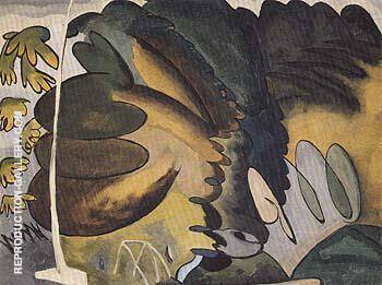 The Park 1927 By Arthur Dove - Oil Paintings & Art Reproductions - Reproduction Gallery