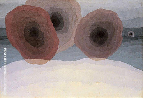 Reproduction of Fog Horns 1929 by Arthur Dove | Oil Painting Replica On CanvasReproduction Gallery