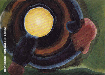 Sunrise II 1936 By Arthur Dove - Oil Paintings & Art Reproductions - Reproduction Gallery