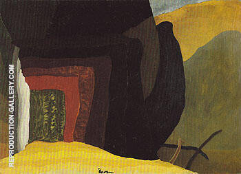 Holbrooks Bridge to Northwest 1938 By Arthur Dove - Oil Paintings & Art Reproductions - Reproduction Gallery