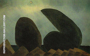 Long Island 1940 By Arthur Dove Replica Paintings on Canvas - Reproduction Gallery