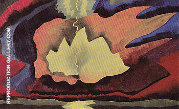 Long Island 1940 By Arthur Dove