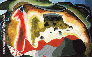 U.S. 1940 By Arthur Dove - Oil Paintings & Art Reproductions - Reproduction Gallery