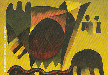 Indian Summer 1941 By Arthur Dove