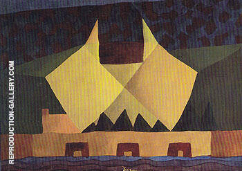 The Brothers No I 1941 By Arthur Dove Replica Paintings on Canvas - Reproduction Gallery