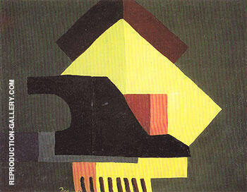 Structure 1942 By Arthur Dove