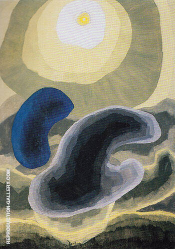 Partly Cloudy 1942 By Arthur Dove