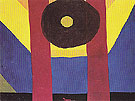 That Red One 1944 By Arthur Dove