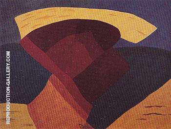The Other Side 1944 By Arthur Dove Replica Paintings on Canvas - Reproduction Gallery